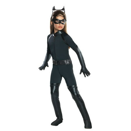 Dark Knight Rises Catwoman Goggles (Girl's Deluxe Catwoman Halloween Costume - Dark Knight)