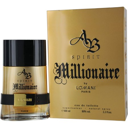 Ab Spirit Millionaire Edt Spray 3.3 Oz By
