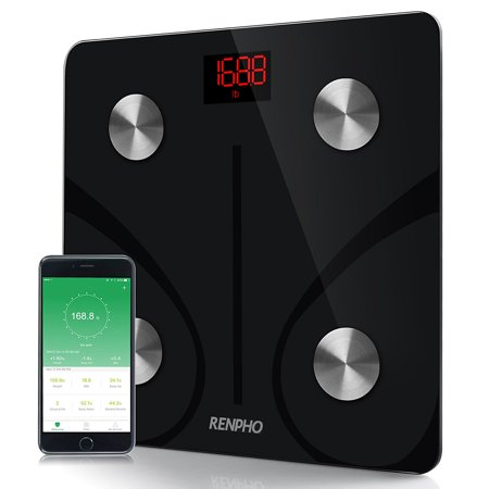 RENPHO Bluetooth Body Fat Scale-FDA Approved Smart BMI Scale Digital Bathroom Wireless Weight Scale, Body Composition Analyzer with Smartphone App