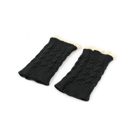 Dame hiver Dame Dentelle crochet Tricot Poignées paire brassard amor age - image 1 de 2