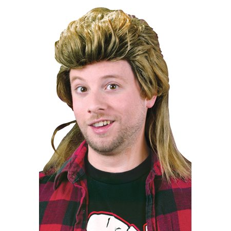 1980's Mullet Costume Wig - Billy Mullet Wig