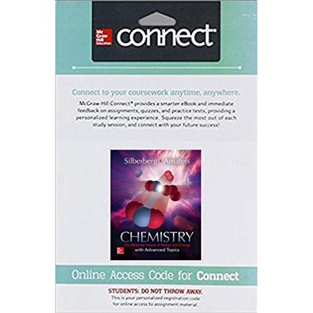 CONNECT ACCESS CARD FOR CHEMISTRY: MOLECULAR NATURE OF MATTER AND CHANGE, 9781259916168, Printed Access Code, 1 ()