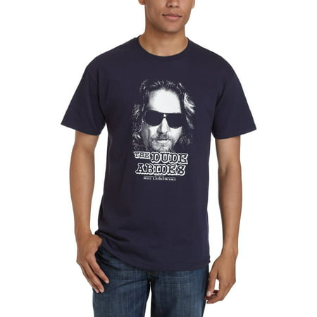 The Big Lebowski T-Shirt - The Dude Abides (Old Dudes Rule T Shirt)
