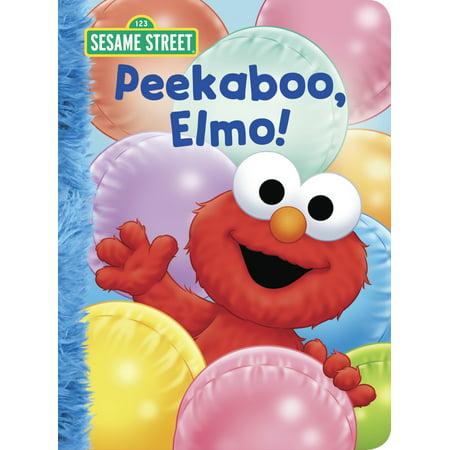 Peekaboo, Elmo! (Sesame Street) - Sesame Street Halloween Book