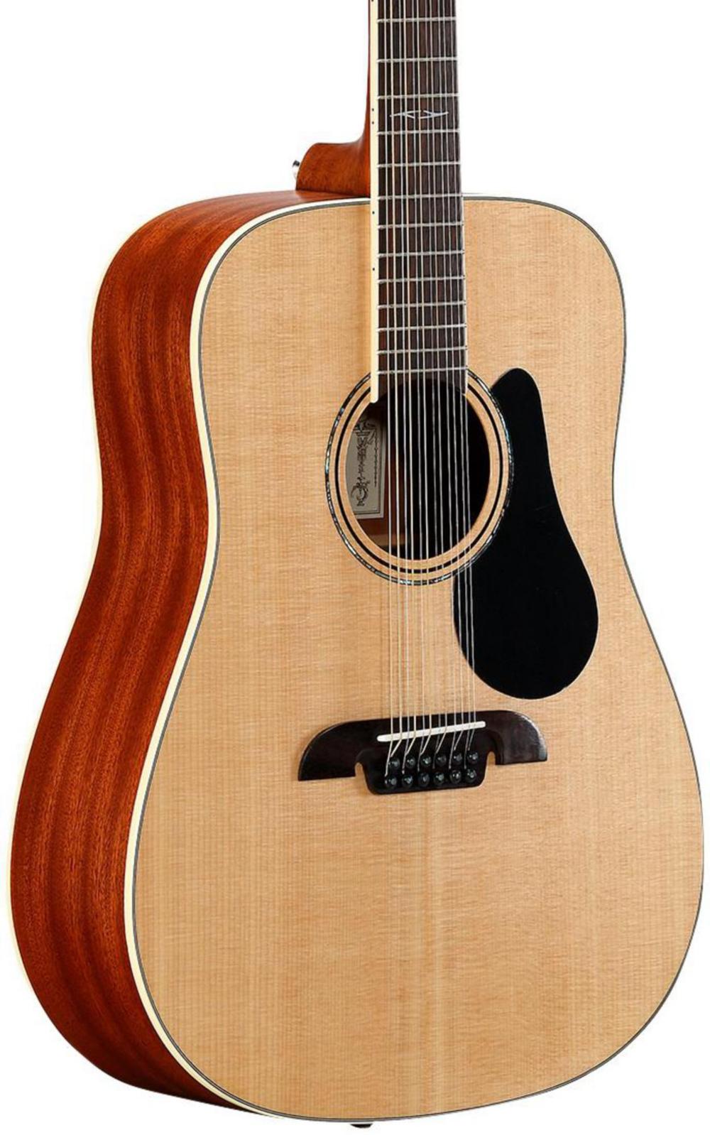 Artist Series AD60-12 Dreadnought Twelve String Acoustic Guitar by Alvarez