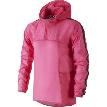 Nike Womens Transparent Woven Running Jacket Pink