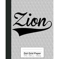 Dot Grid Paper : ZION Notebook