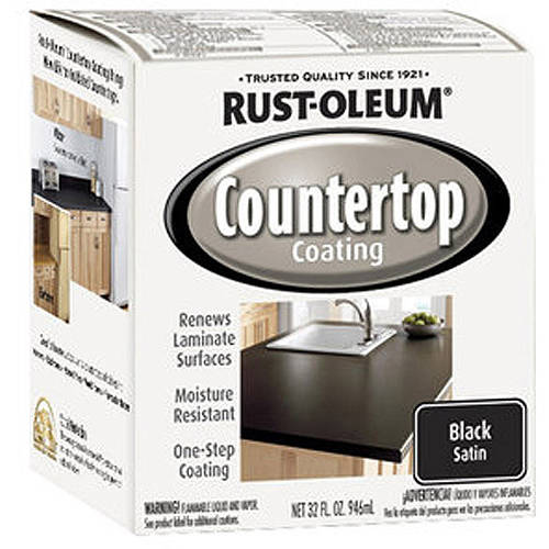 Rust-Oleum Countertop Coating, Quart, Black
