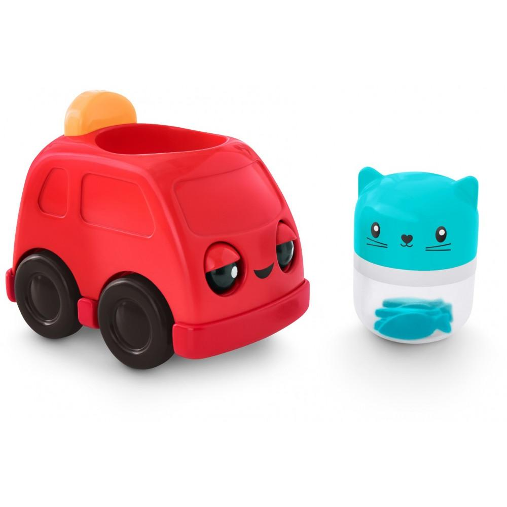 Fisher-Price Press & Rattle Racers Car with Fun Rattle Sounds