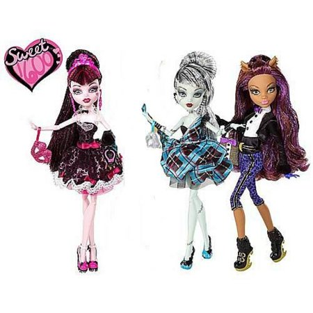 Monster High Sweet 1600 Doll Case