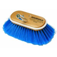 "970 6"" Deck Brush with Extra Soft Blue Nylon Bristles, 6 inch deck brush, extra soft By Shurhold"