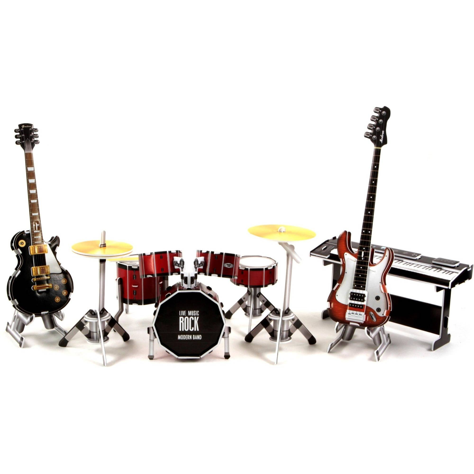 Modern Band 3D Puzzle, 66-Pieces by 3D Innovation