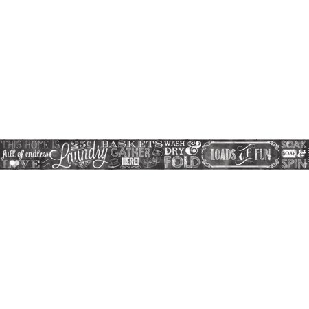 Chalkboard Borders (Border Portfolio II Laundry Chalkboard)