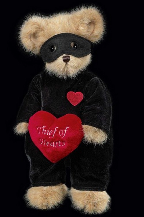 Bearington Bears Stolen Thief of Hearts Valentine Love Teddy Bear by Bearington Collection