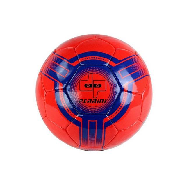8301 Perrini Futsal - Official Size 4 Soccer Ball Black & Yellow