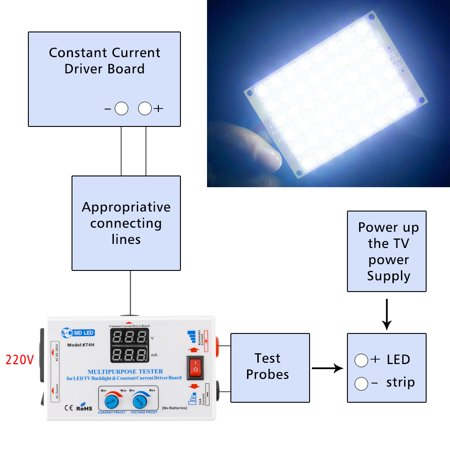 0-330V Output Multifunctional LED TV Backlight and Constant