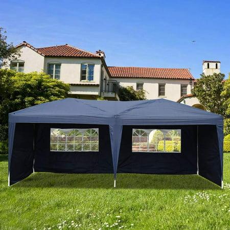 UBesGoo Canopy 10' x 20' Waterproof Outdoor Garden Gazebo Pop Up Party Tent Wedding Canopy (10 Water Garden)
