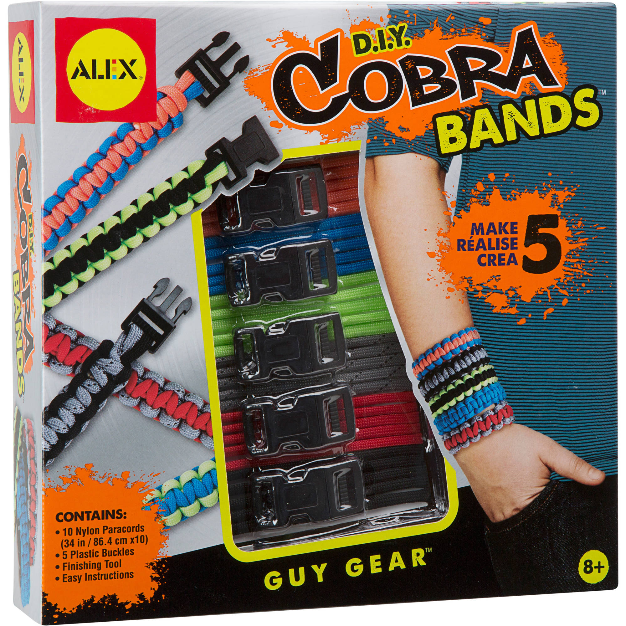 ALEX Toys Craft DIY Cobra Bands