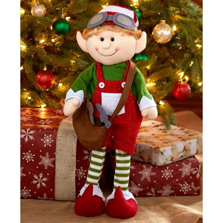 The Lakeside Collection 2-Ft. Decorative Holiday Elf -