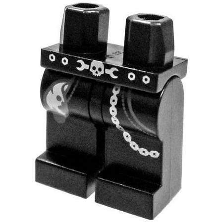 Lego Chain (LEGO Black with Pockets, Rag, Chain & Skull Belt Pattern Loose)