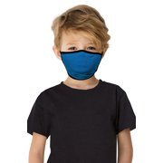 24seven Comfort Apparel Face Mask Kids Reversible Double Layer Knit Reusable made in USA