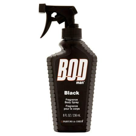 BOD Man Black Fragrance Body Spray, 8 fl oz