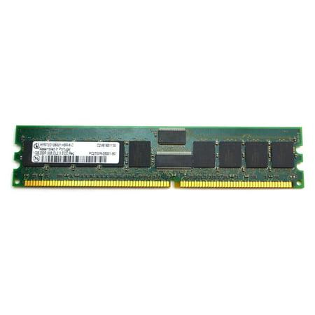 Parity Ddr Sdram 200 Pin (HYS72D128321HBR-6-C INFINEON 1GB 2RX8 PC-2700 CL2.5 ECC 184-PIN 333MHZ MEMORY HYS72D128321HBR-6-C US ECC Ddr Sdram 184-Pin Memory - Used Very Good)