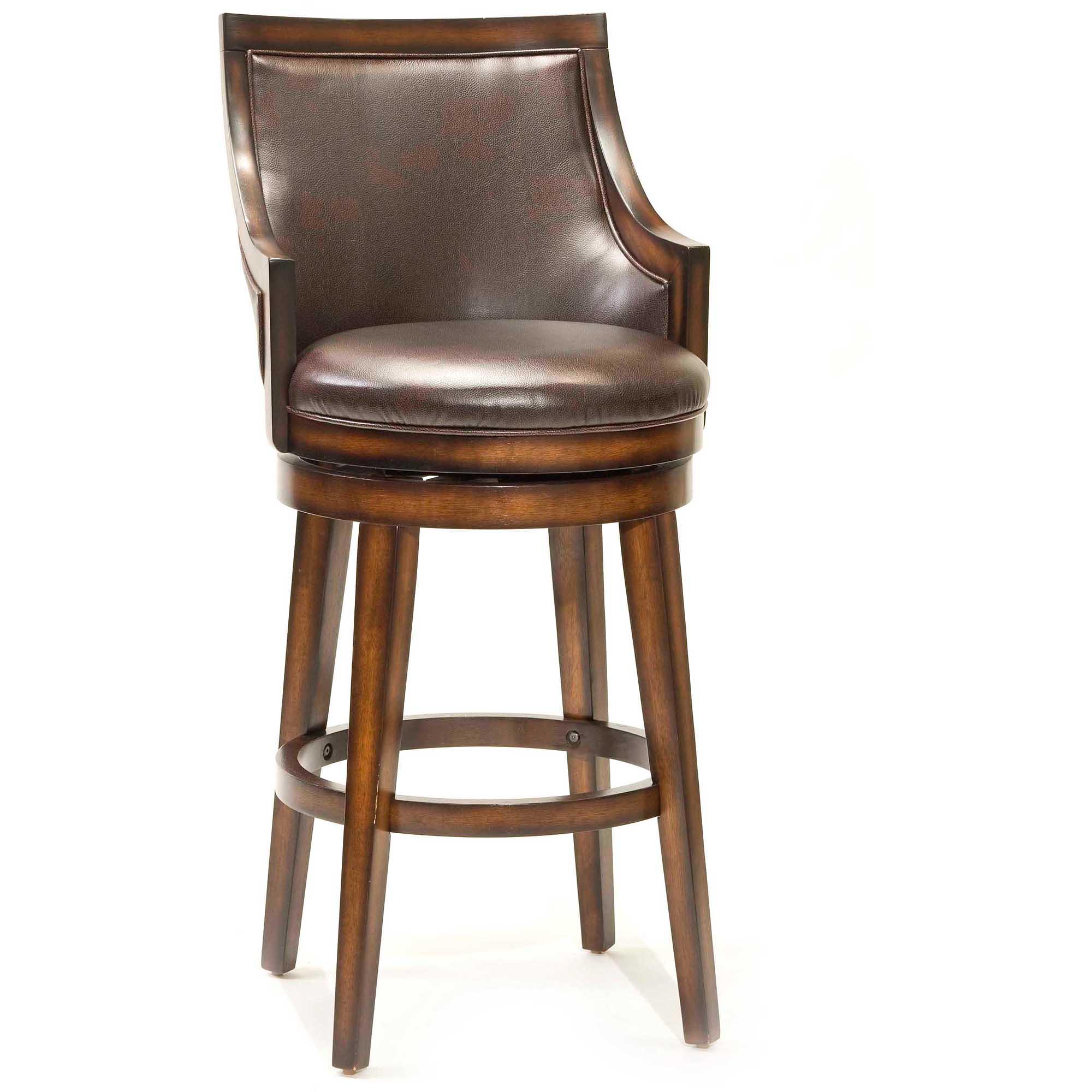 Swivel Bar Chair lyman swivel bar stool - walmart