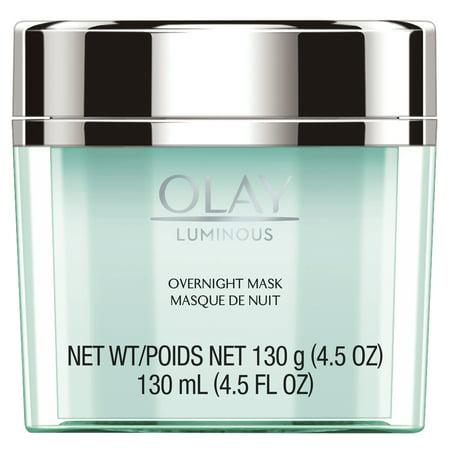Olay Luminous Overnight Facial Mask Gel Moisturizer, 4.5