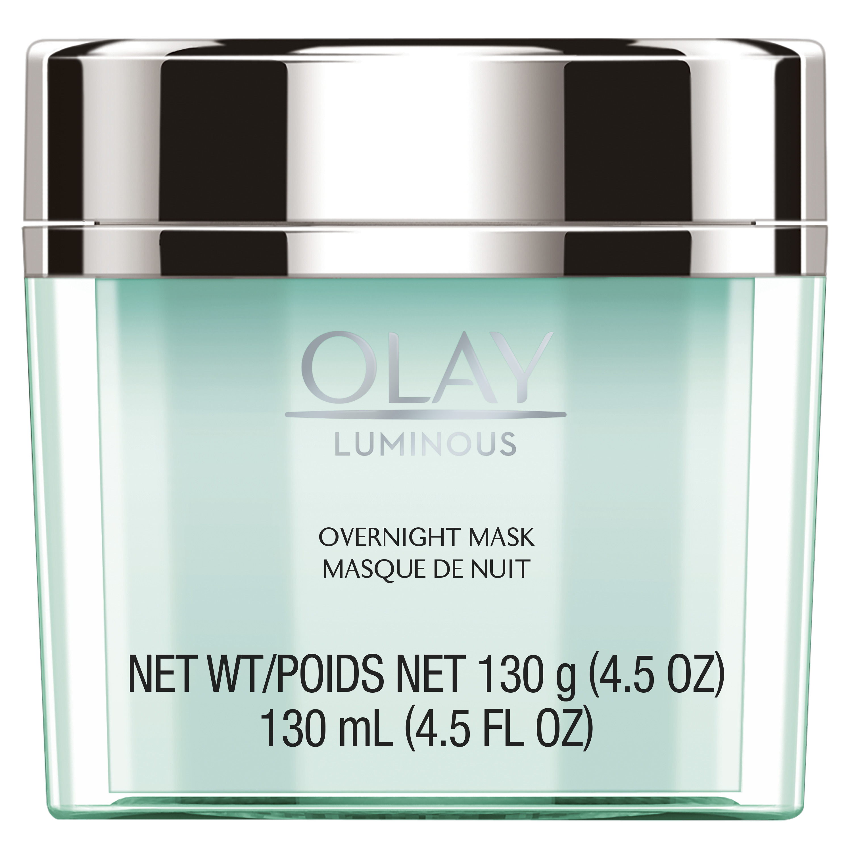 Olay Luminous Overnight Facial Mask Gel Moisturizer, 4.5 oz