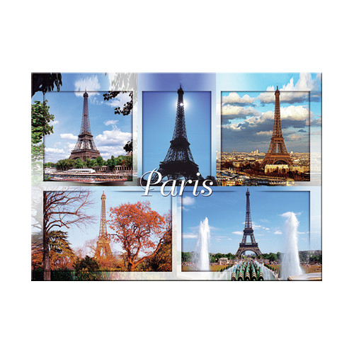 Mierco Paris Monuments Decorative Magnet