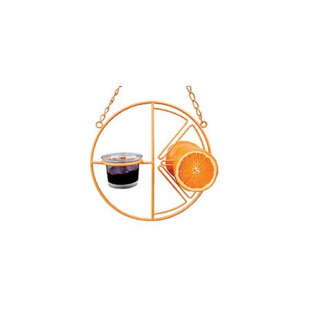 HEATH CF-133 Clementine Oriole Feeder, Steel, -