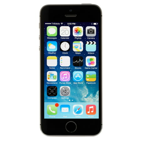 Apple iPhone 5s 16GB Unlocked GSM 4G LTE Dual-Core Phone w/ 8MP Camera - Space