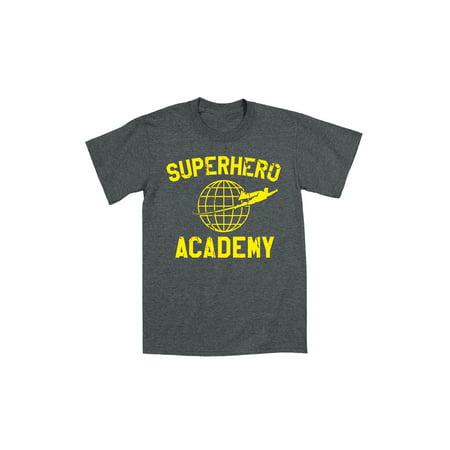 Superhero Academy  - Adult Short Sleeve Tee