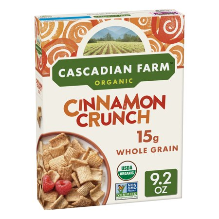 Cascadian Farm Organic Cinnamon Crunch Breakfast Cereal - 9.2oz