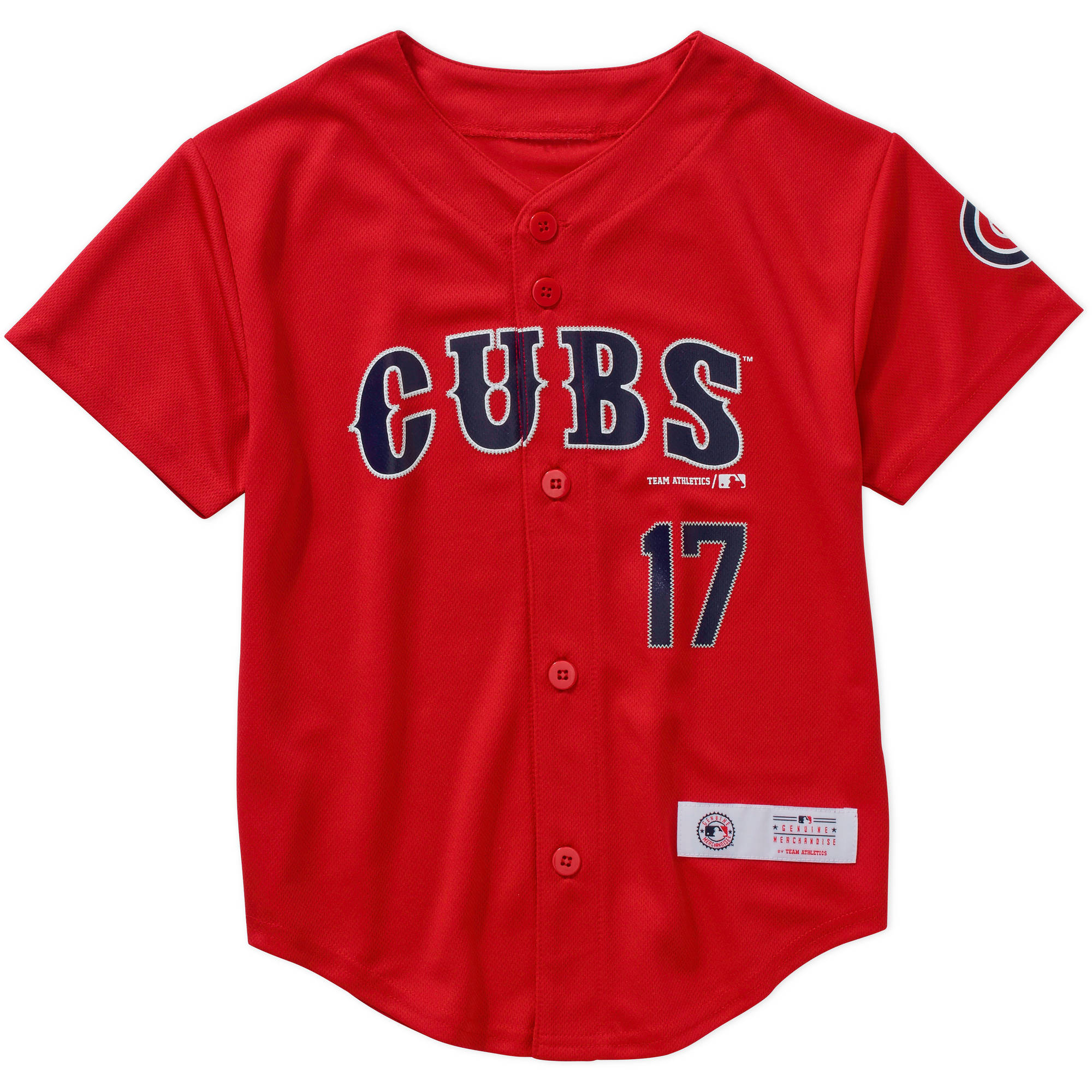 MLB  Boys  Chicago Cubs K Bryant #17 Jersey