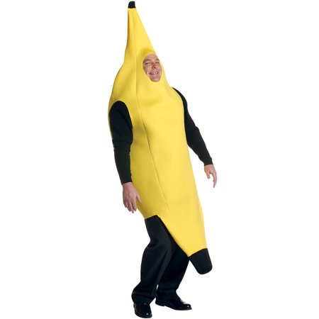Banana Deluxe Plus Size Men's Adult Halloween Costume, One Size, 50-52