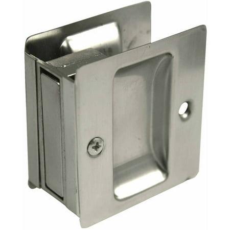 Ultra 49601 Satin Nickel Passage Pocket Door Lock Locks For Pocket Doors