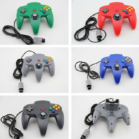 N64 game controller N64 wired controller N64 game wired controller - image 4 de 6
