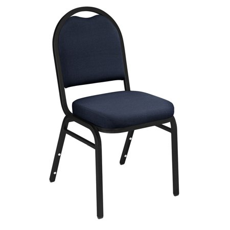 Lightweight Upholstered Stack Chair (NPS® 9200 Series Premium Fabric Upholstered Stack Chair, Midnight)