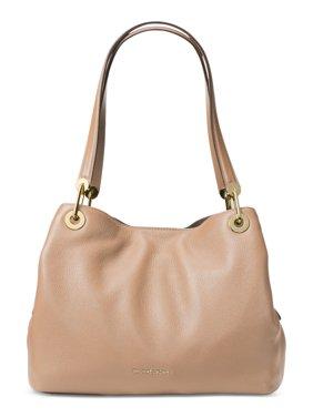 b5b9a2841e35 Product Image Michael Kors Raven Large Leather Shoulder Bag - Oyster