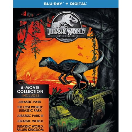 Jurassic World: 5-Movie Collection (Blu-ray + Digital Copy)