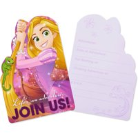 Rapunzel Tangled Birthday Party Invite Postcards, 8ct