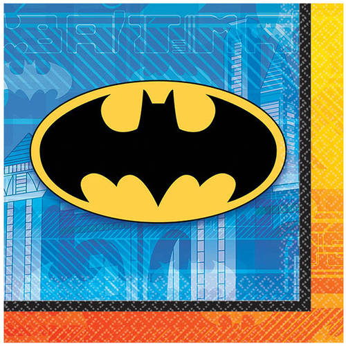 Batman Beverage Napkins, 16pk by Generic