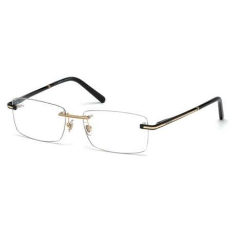 MONTBLANC Eyeglasses MB0577 001 Shiny Black - Santa Eyeglasses