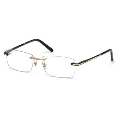 MONTBLANC Eyeglasses MB0577 001 Shiny Black 57MM - Fake Eyeglasses