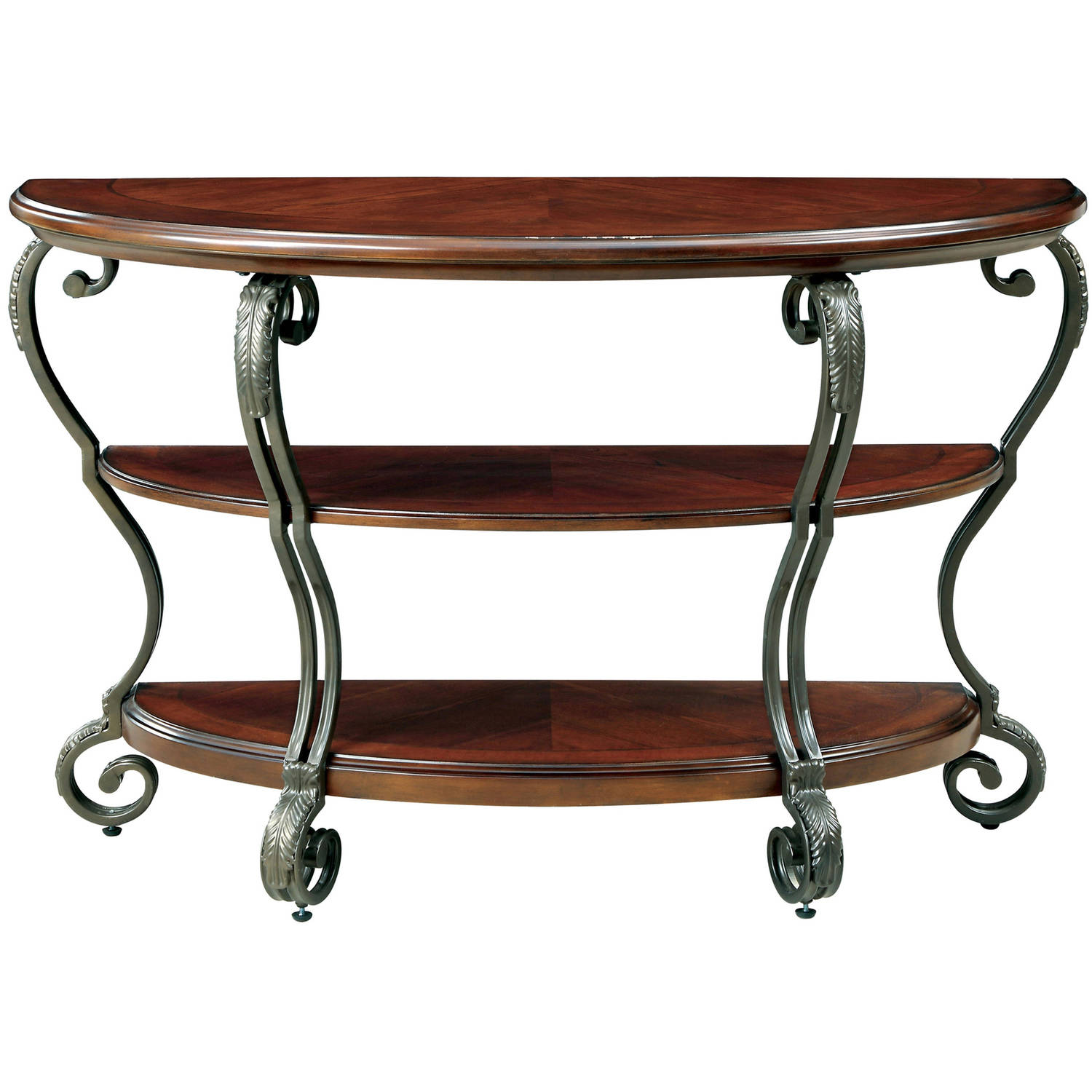 Furniture of America Ezell Sofa Table, Brown Cherry