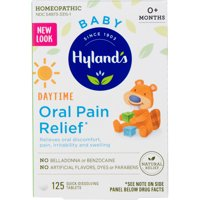 Hyland's Baby Oral Pain Relief, 125 tablets