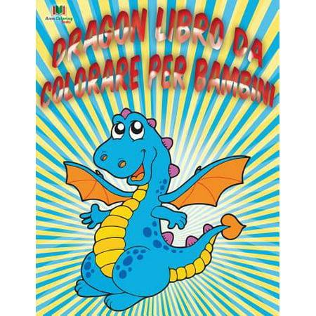 Dragon Libro Da Colorare Per - Colorare Halloween Bambini