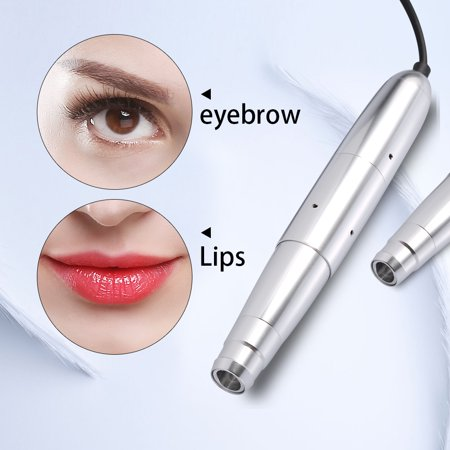 WALFRONT Eyebrow Lip Eyeliner Tattoo Machine Semi Permanent Makeup Rotary  Power Supply Pen Body Art Tool, Electric Tattoo Pen,Tattoo Machine |  Walmart